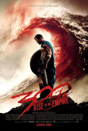 300 Rise of an Empire - Blood Wave Poster
