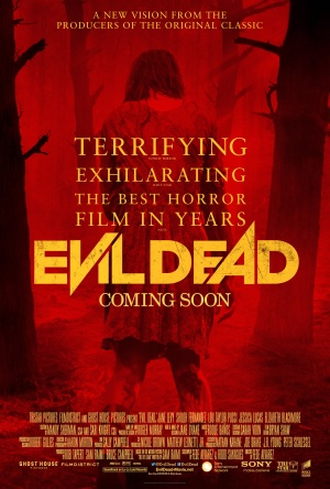 The Evil Dead - Remake Red Poster