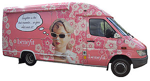 Benefit Ambulance Wrap