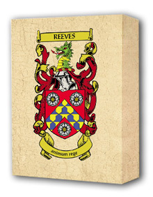 Coat of Arms print to canvas