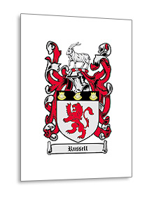 Coat of Arms print to paper