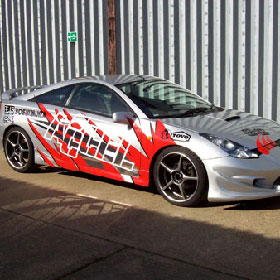 Custom Auto Graphics By Absolute Graphix - Auto graphics for car